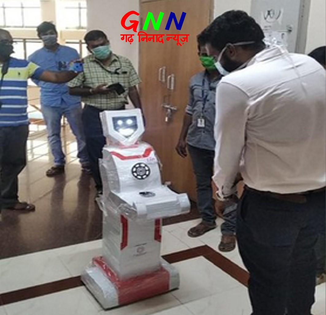COVID-19: कोरोना वारियर रोबोट्स भी संक्रमण से रण के लिए तैयार