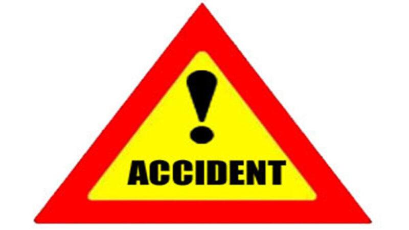 कार बैक करते हुआ हादसा,चालक की मौत