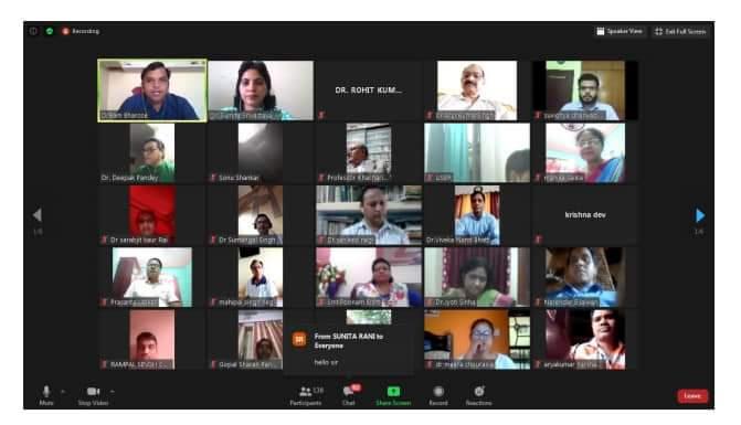 "राजकीय महा विद्यालय पोखरी क्वीली मे ""लोक साहित्य के महत्व एवं प्रासंगिकता""  विषय पर बेबिनार आयोजित"