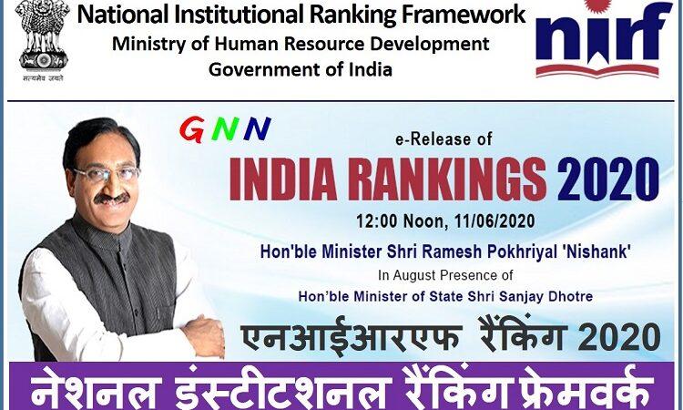 NIRF 2020 Ranking: IIT मद्रास ओवरऑल देश का बेस्ट संस्थान, IISc देश का सर्वश्रेष्ठ विश्वविद्यालय, पढ़िए उत्तराखंड से किस-किस ने बढ़ाया मान…