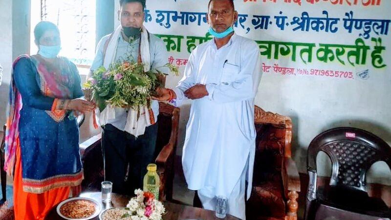 श्रीकोट-माल्डा पहुंचे विधायक कंडारी ने सुनी समस्याएं, नागराजा मंदिर जीर्णोद्धार को 3 लाख देने की घोषणा