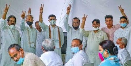 अशोक गहलोत सरकार ने जीता विश्वास मत: भाजपा ने लिया 'यू टर्न' नहीं लाएगी अविश्वास प्रस्ताव
