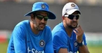 महेंद्र सिंह धोनी और रैना ने अंतरराष्ट्रीय क्रिकेट से लिया संन्यास ,आईपीएल खेलेंगे