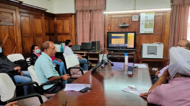 वन रोगों और कीट-कीट के एकीकृत प्रबंधन पर वेबिनार
