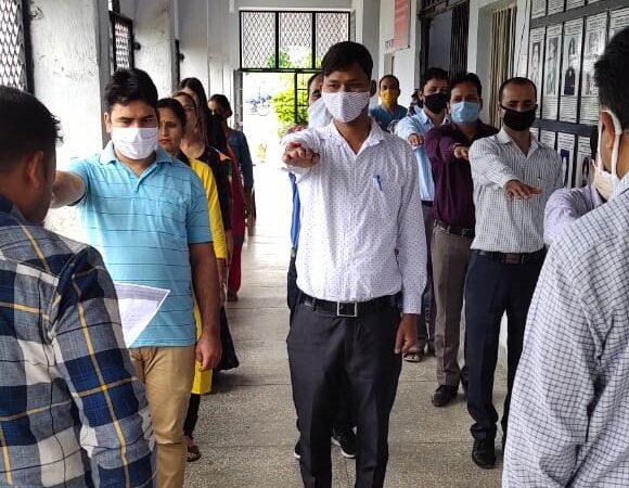 राजकीय महाविद्यालय अगरोड़ा में सद्भावना दिवस मनाया गया