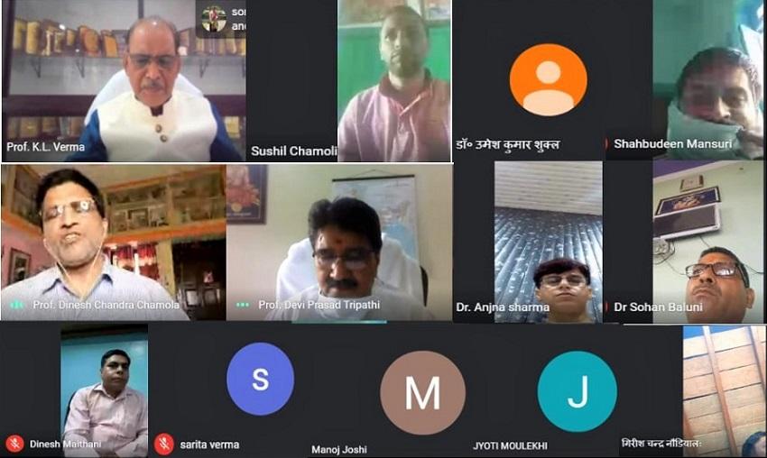 हिंदी शोधार्थियों हिंदी की ताकत, और नई शिक्षा नीति रचनात्मकता एवं नई सोच पैदा करने वाली