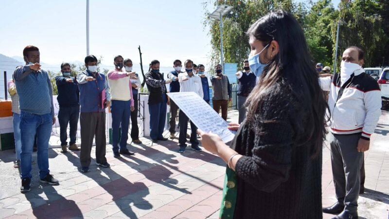 सरदार बल्लभ भाई पटेल की जयंती को पूरे जिले में राष्ट्रीय एकता दिवस के रूप में मनाया