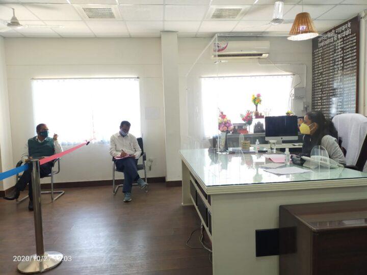 डीएम इवा श्रीवास्तव ने ली टाडा की समीक्षा बैठक