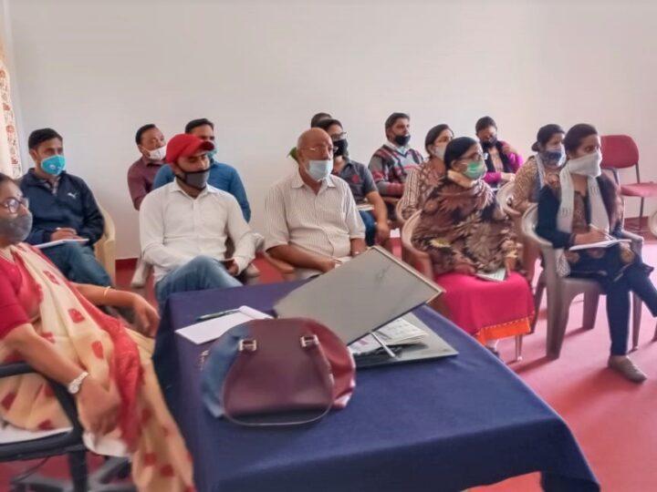 राजकीय महाविद्यालय चन्द्रबदनी नैखरी में ऑनलाइन क्लासेज के सम्बन्ध में एक दिवसीय कार्यशाला का आयोजन