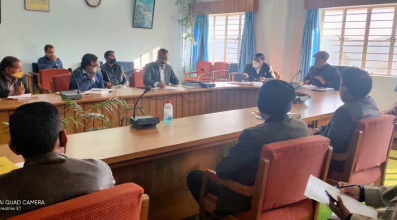 कोविड-19 को लेकर गठित अनुश्रवण एवं निगरानी समिति की बैठक संपन्न