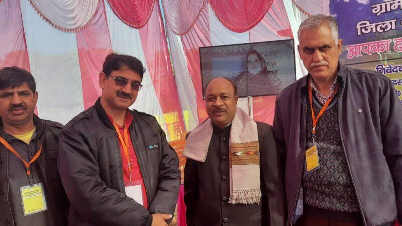 जम्मू कश्मीर से शैक्षिक भ्रमण पर आए सरपंचों ने ग्राम पंचायत केदारवाला का किया भ्रमण