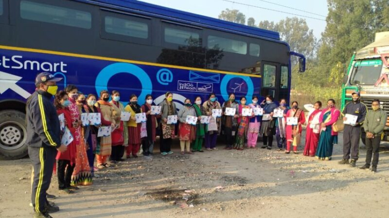 एसडीआरएफ ने ऋषिकेश रेलवे मार्ग पर चलाया कोरोना संक्रमण को लेकर जागरूकता अभियान