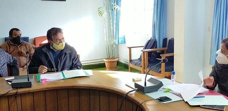 परिषदीय परीक्षा 2021 को लेकर बैठक संपन्न, राइंका रौडधार व मंदार को नये परीक्षा केंद्र बनानेपर सहमति