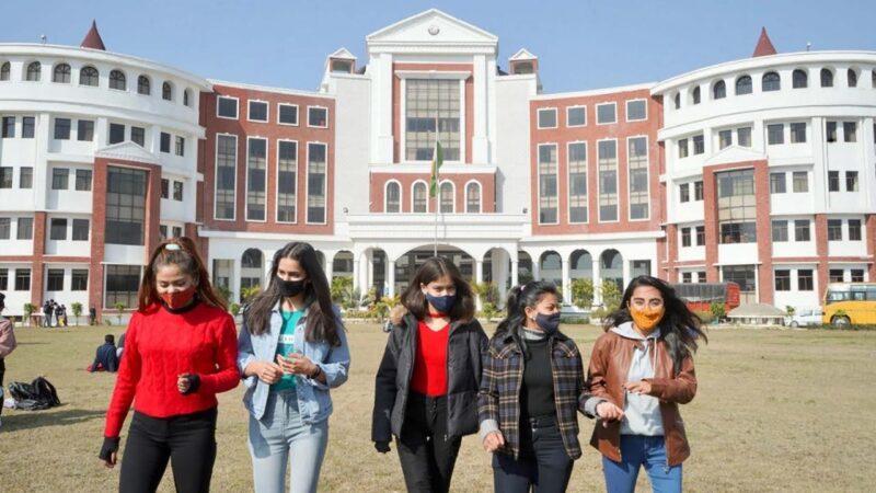 नये छात्र छात्राओं से गुलजार हुआ ग्राफिक एरा