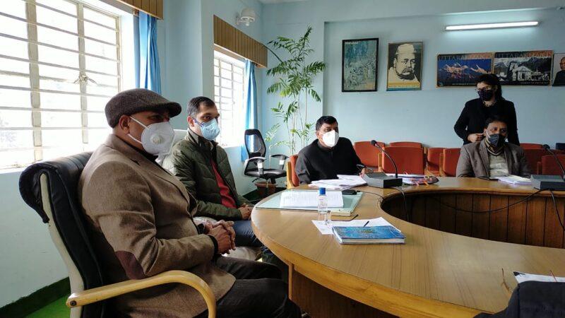 उच्च न्यायालय द्वारा गठित जिला अनुश्रवण एवं निगरानी समिति की 17वीं बैठक सम्पन्न