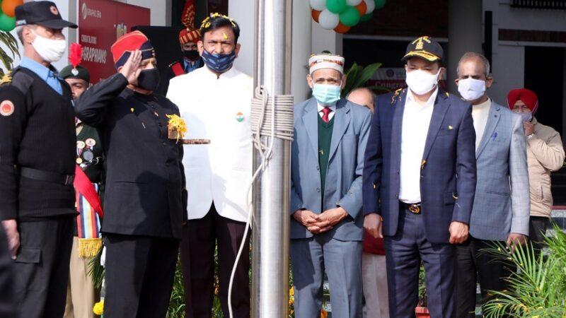 ग्राफिक एरा में गणतंत्र दिवस, कोविड में देश ने खुद को साबित किया: डॉ. कमल घनशाला