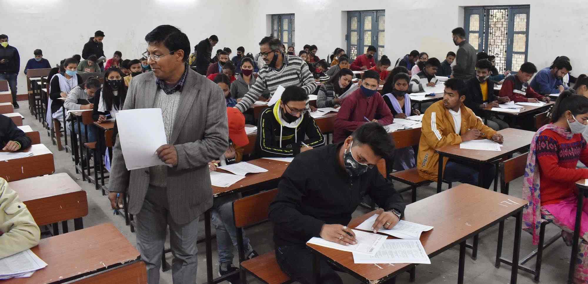 निःशुल्क कोचिंग के लिए चौथे बैच के चयन हेतु पीजी काॅलेज गोपेश्वर में प्रवेश परीक्षा आयोजित