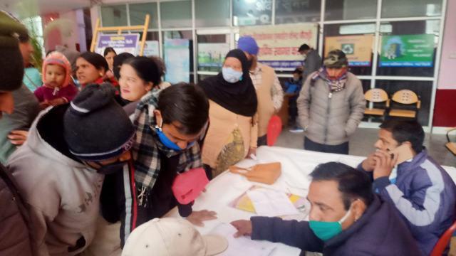 पालिका द्वारा आयोजित बहुद्देशीय शिविर में जन समस्याओं का हुआ निस्तारण