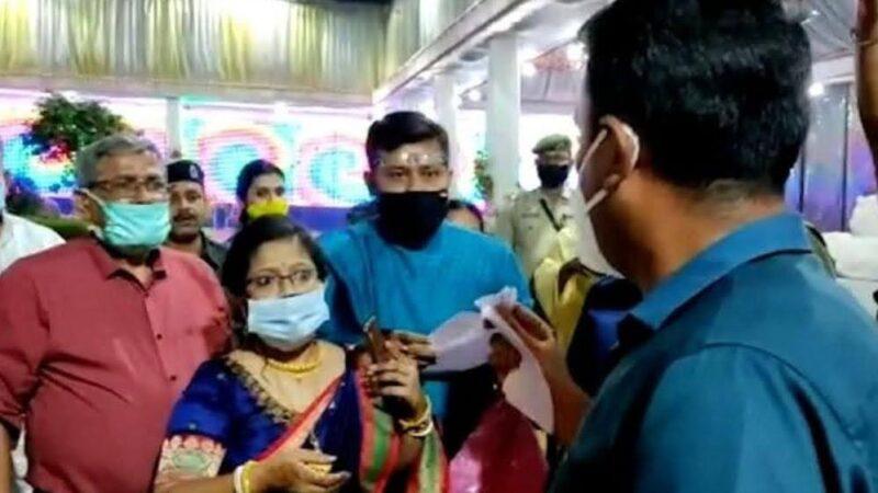 जबरन शादी रुकवाना डीएम त्रिपुरा को पड़ा भारी, निलंबित