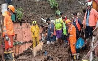 मुंबई में भारी बारिश से भूस्खलन, कई मौतें, केंद्र और राज्य सरकारों ने किया मुआवजे का एलान