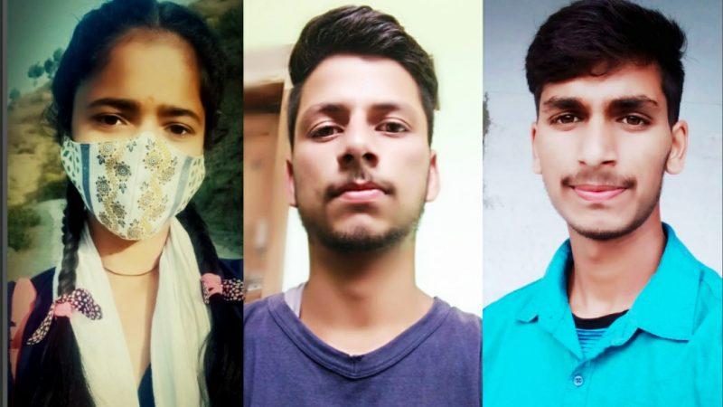 महाविद्यालय अगरोड़ा (धारमंडल) में हिंदी दिवस के उपलक्ष्य मे निबंध प्रतियोगिता आयोजित