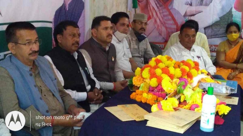 गणेश परिक्रमा बंद कर चुनाव तैयारी में जुटें कांग्रेस कार्यकर्ता- बालेश्वर सिंह