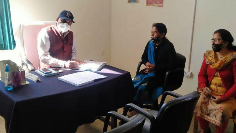 जज अशोक कुमार ने किया सखी वन स्टॉप सेंटर नारी निकेतन नई टिहरी का निरीक्षण